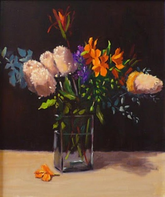 Looking for artwork online in Australia? View A Mixed Bunch - Still Life original artwork by Lucille Tam