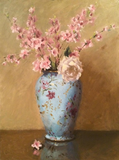 Blossoms, an original artwork by artist Lucille Tam