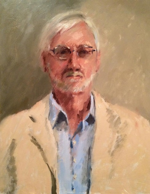Hugh, an original artwork by artist Lucille Tam