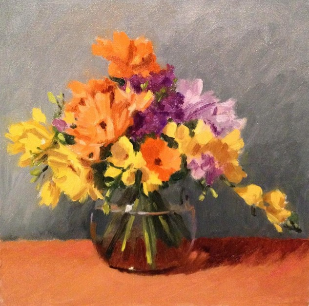 Looking for artwork online in Australia? View Pastel Bouquet - Still Life original artwork by Lucille Tam