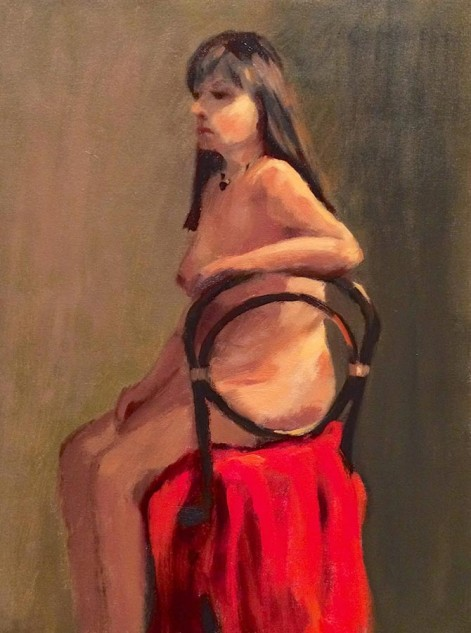 Looking for artwork online in Australia? View Seated Figure, Front - Figures and Portraits artwork by Lucille Tam